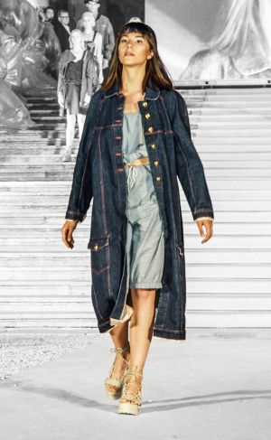 Denim look from Anna Biotti.