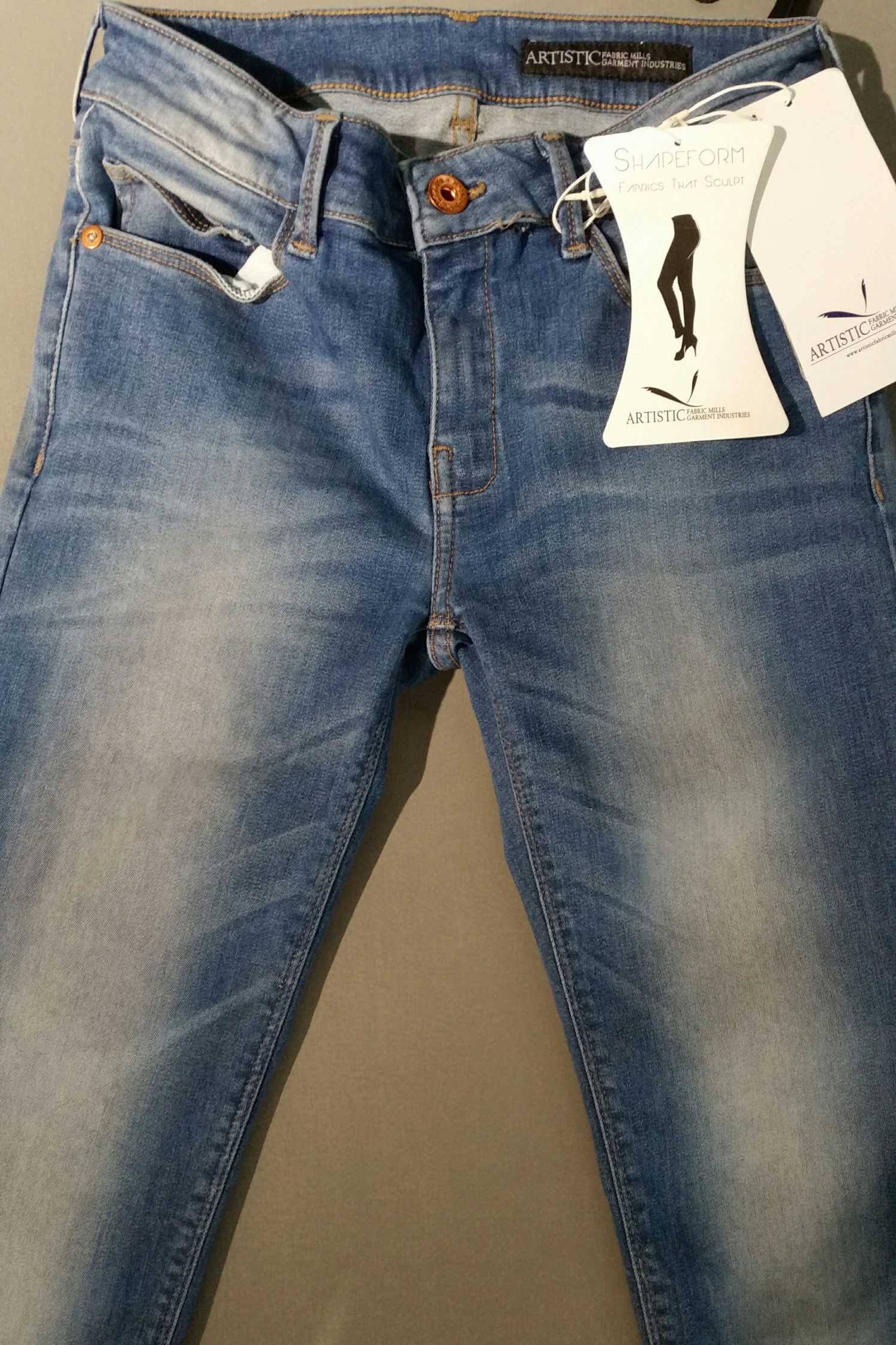 Artistic Fabric Mills Shapeform jeans