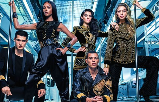 Balmain x H&M fall/winter'15