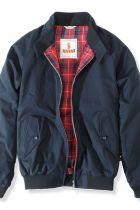 Baracuta's jacket with the iconic Fraser Tartan lining