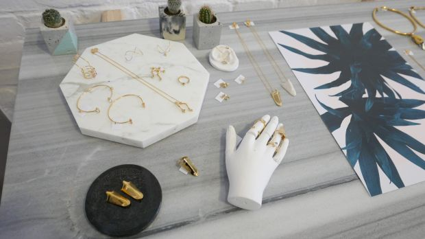 Beatriz Palacios jewelry in-store