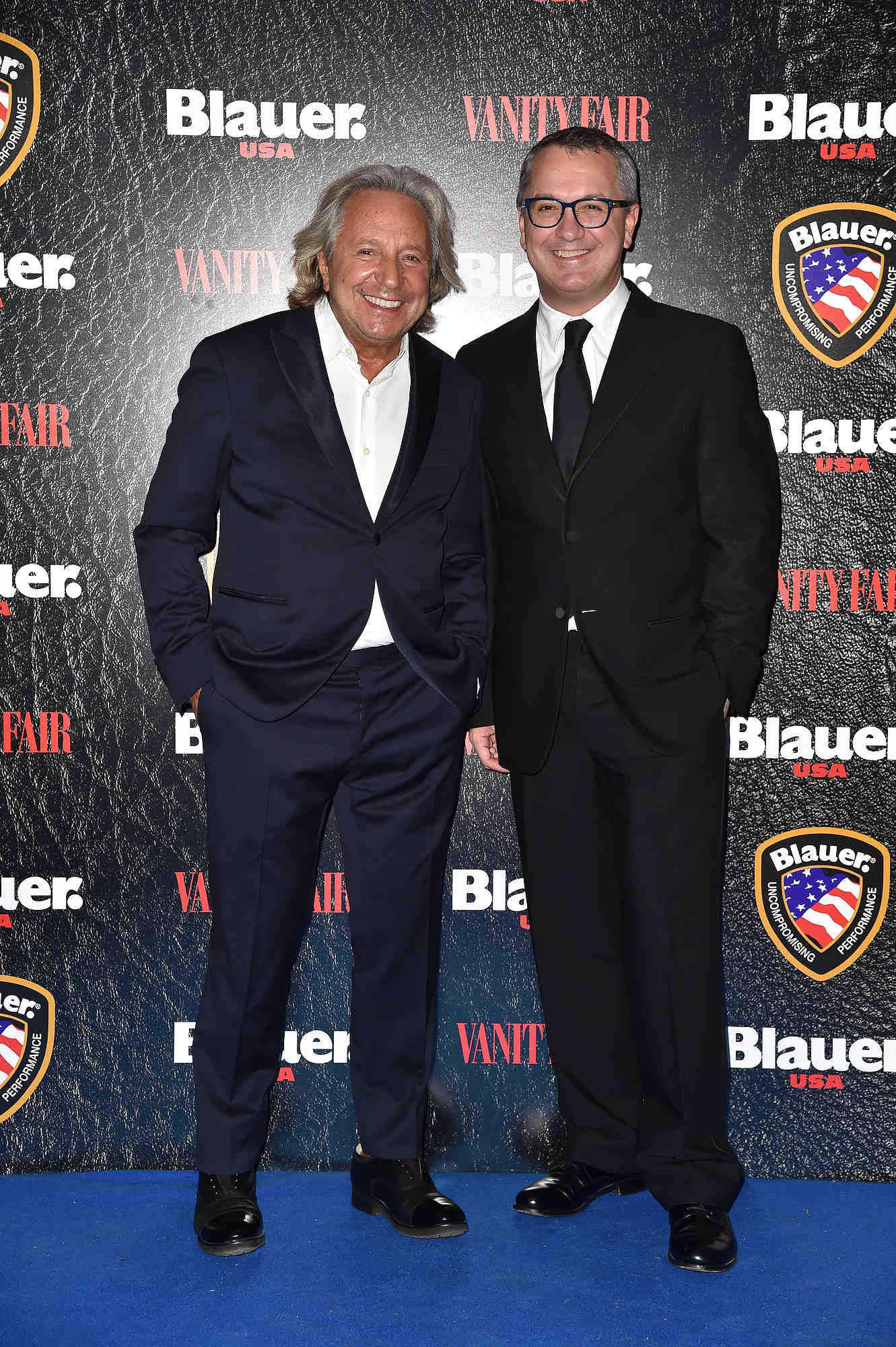 Enzo Fusco (left), owner of FGF Industry and Luca Dini, director Vanity Fair Italy.
