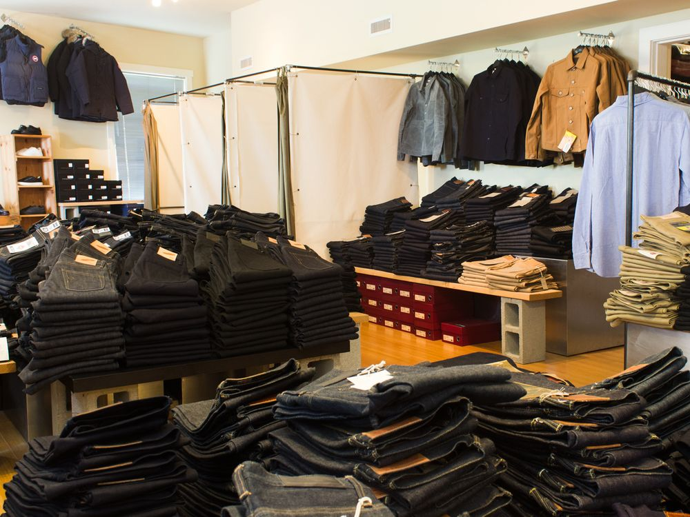 The store stocks brands such as 3sixteen, Gitman Bros. and Rogue Territory, among others.