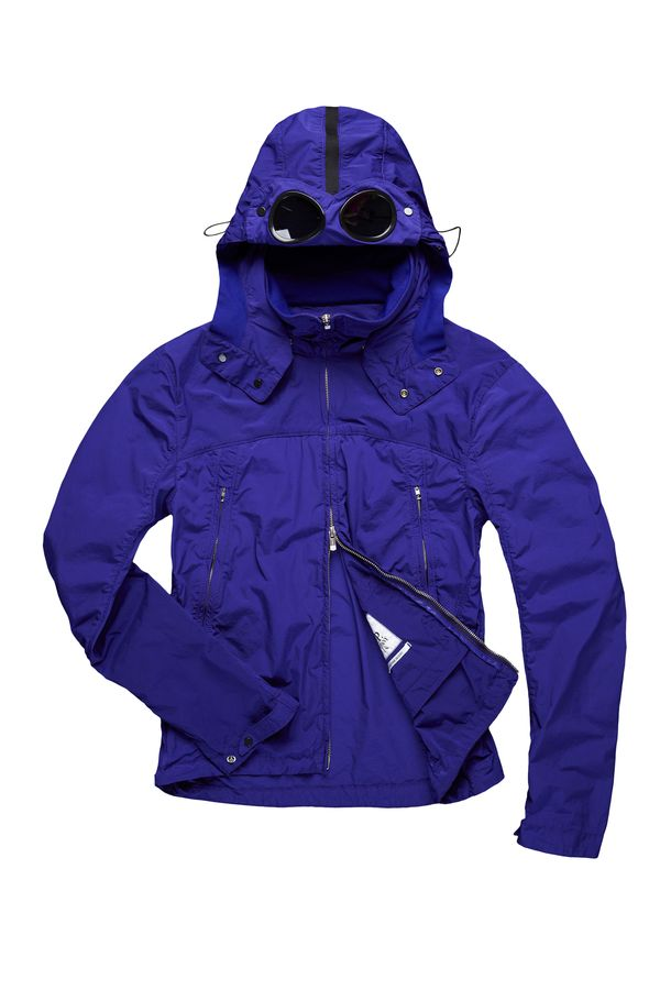 C.P. Company jacket with the iconic goggles