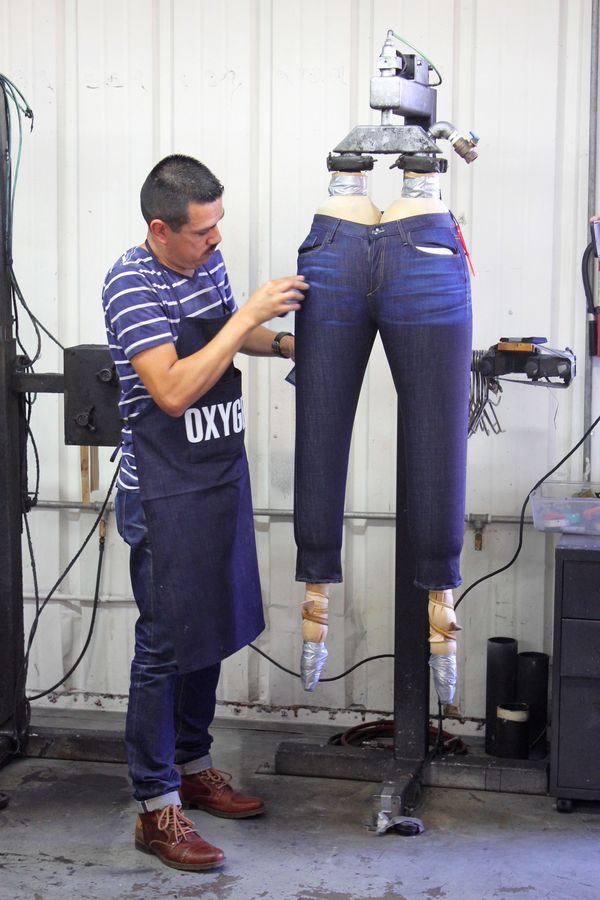 Calik Denim denim workshop in Los Angeles