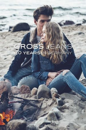 Campaign to celebrate Cross Jeans 20th anniversary in Germany