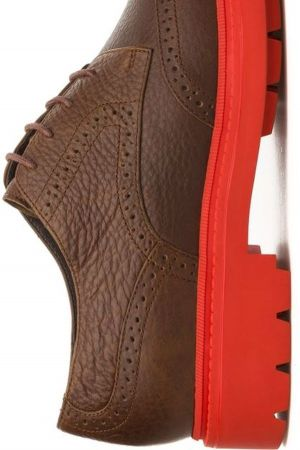 Camper Hardwood brogues with chunky sole