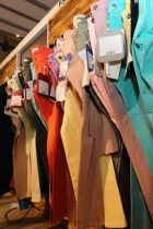 Colorful denims spotted at Denim In-Fashion Dhaka trade show