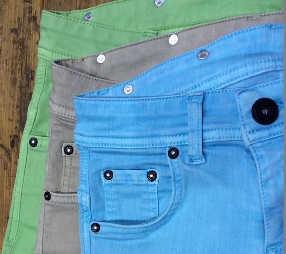 Colorful denims by Calik