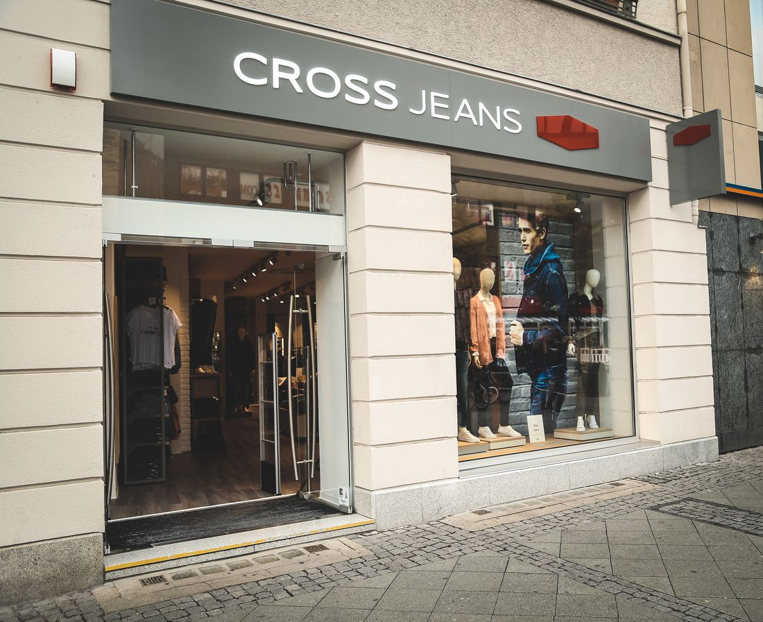 Cross Jeans store in Charlottenburg, Berlin.