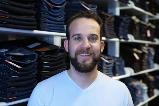 Daniel Carman, co-owner of the store.