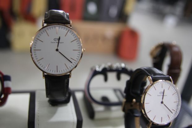 Daniel Wellington at LA Men's Market