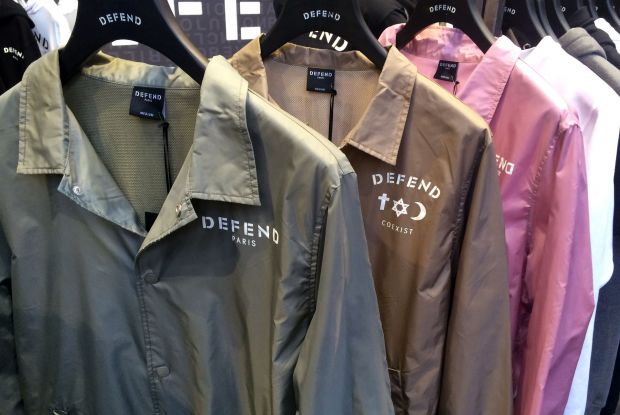 Coach jackets at Defend