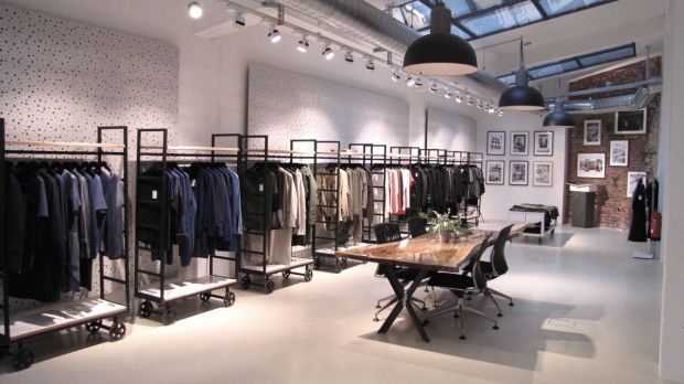 Denham's showroom in Düsseldorf