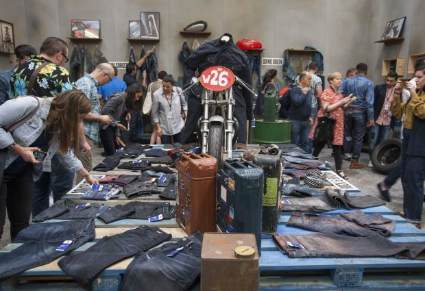 Trends' area at the last edition of Denim PV (May 2016).