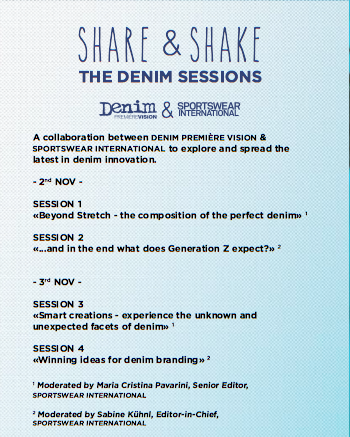 "new initiative ""Share & Shake - The Denim Sessions"""