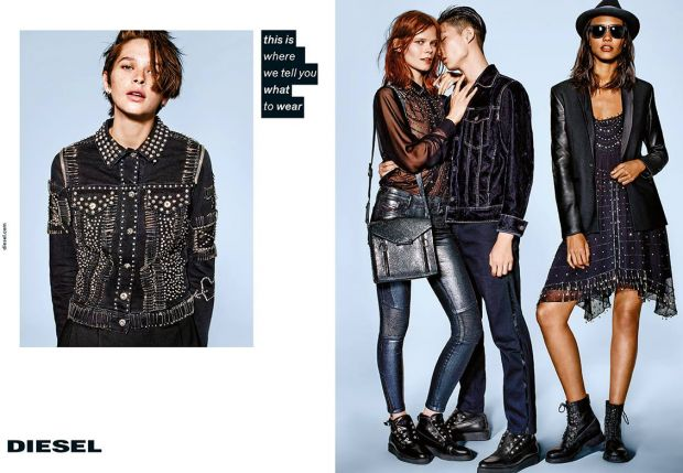 Diesel 'Decoded' campaign