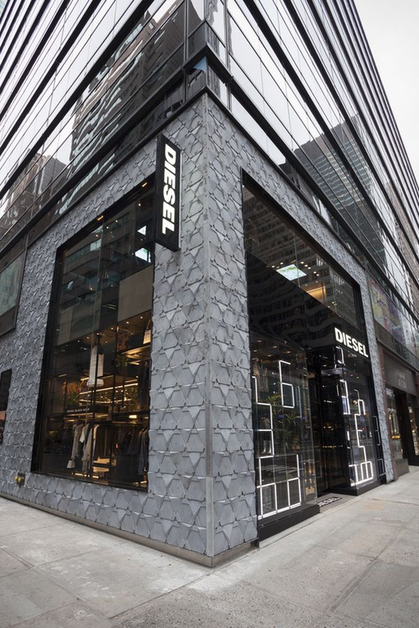 Diesel debut with new store concept in NYC