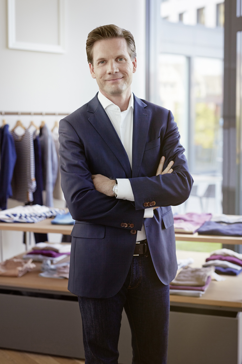 Dieter Messner, General Manager Esprit
