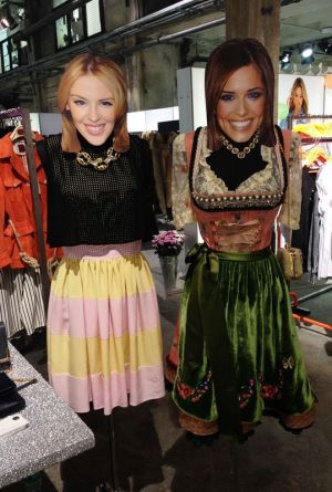 Dirndl Couture at Celine Klauser agency's booth