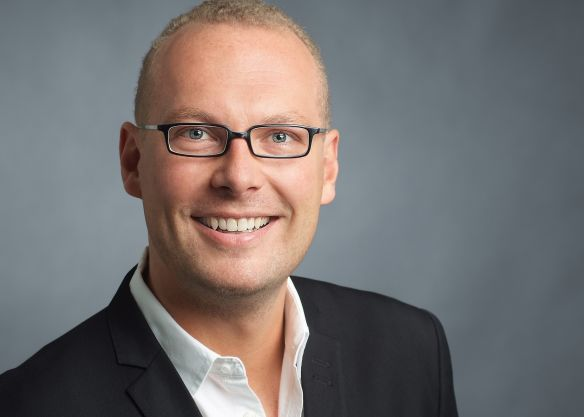 Florian Otte, new sales manager.