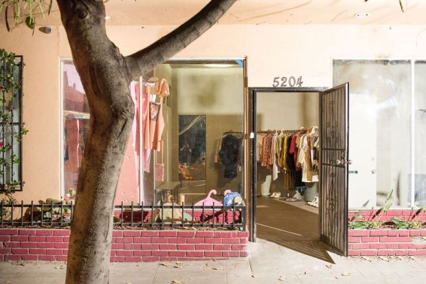 Eckhaus Latta store in LA.