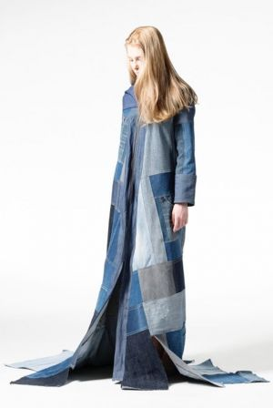Ecofriendly creation from the Fashion Design Faculty at Hochschule Hannover in Germany