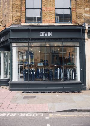Edwin's new London home