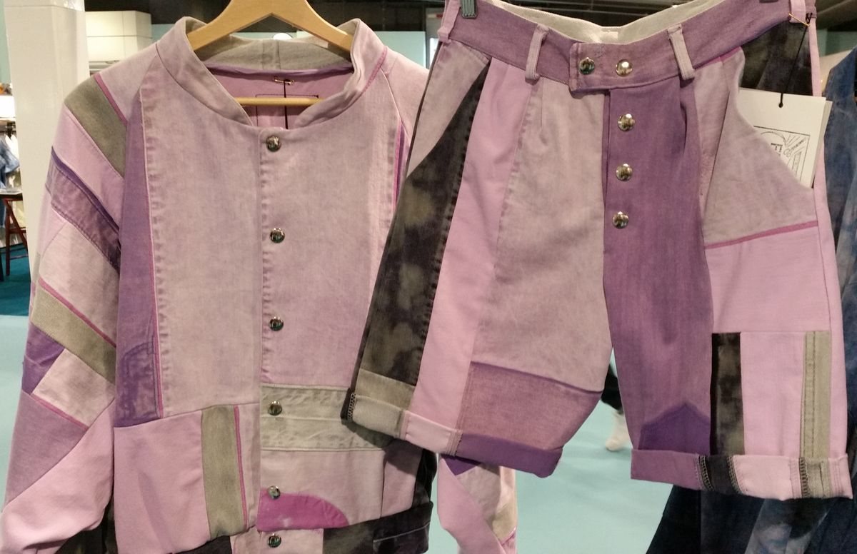 Fade Out - Lucky Pink limited edition denim range.