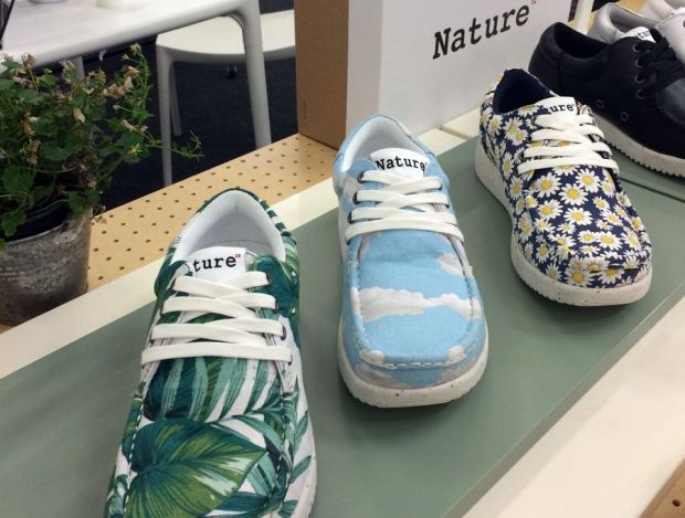 Foot-shaped shoes by Nature Footwear