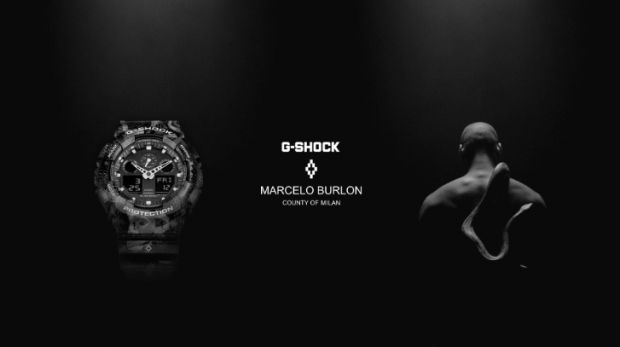 The new G-Shock x Marcelo Burlon design