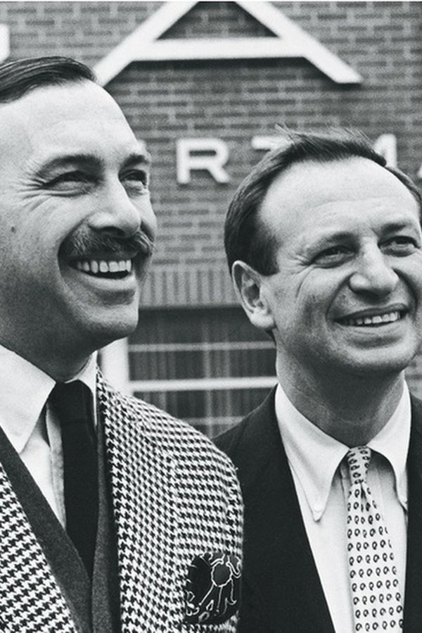 Gant founder: Elliot Gant (left) and his brother Mary Gant