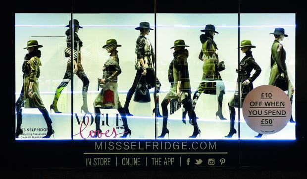 Genesis Mannequins - Tesselation collection at Miss Selfridge