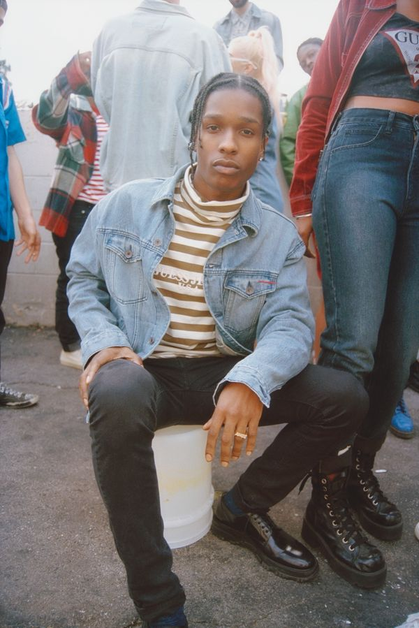 Guess Originals x A$AP Rocky collection