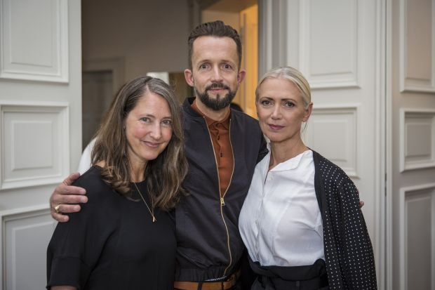 From left to right: Ann-Sofie Johannson (H&M), Thorsten Mindermann (H&M) and Christiane Arp (Fashion Council Germany).