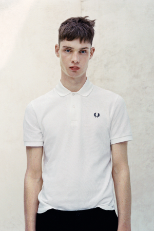 Iconic: Fred Perry's classic polo shirt