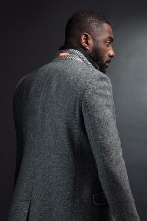 Idris Elba in his new Superdry collection