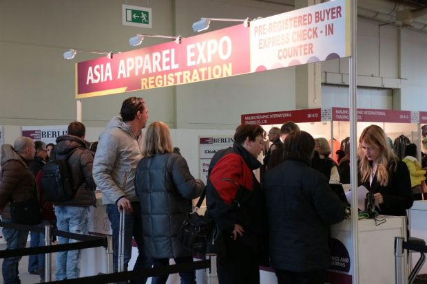Image courtesy of Asia Apparel Expo