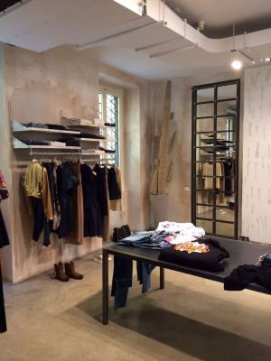 Impression of the new renamed store 'Clanupstairs' in Milan