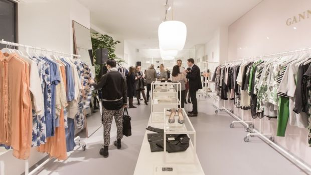 Inside the Ganni store in Frankfurt (photo: Jessica Schäfer)