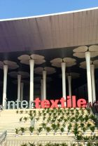 Intertextile entrance at the National Exhibition and Convention Center, Shanghai