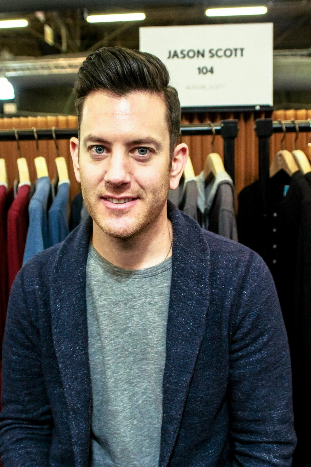 Scott Designer Clothes | Interview Jason Mandler Wearing A T Shirt And Jeans You Don T