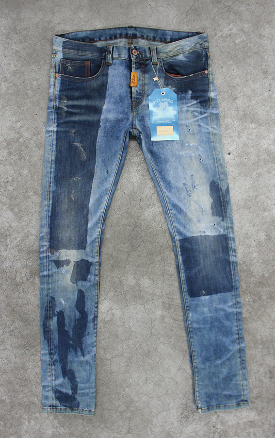 Jeans treated by Pizarro