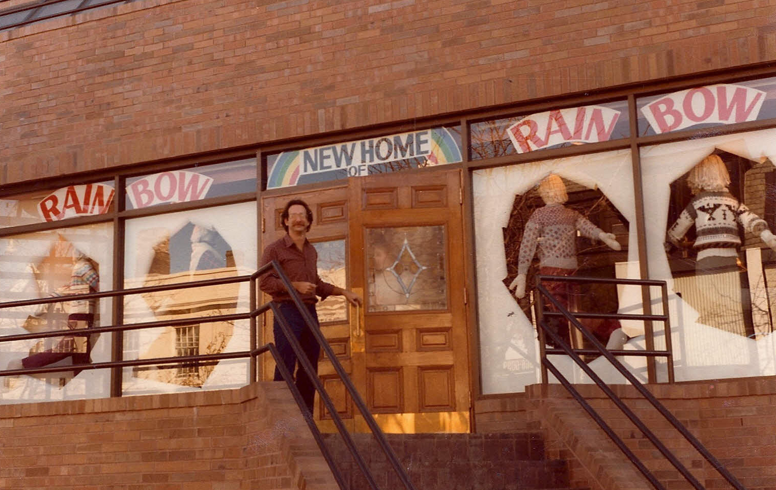 Joel Carman in 1982, when the store moves to its current home at 101 Yorkville Avenue.