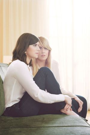 Kate (left) and Laura Mulleavy, founders of Rodarte