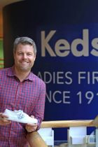 Keds president Chris Lindner