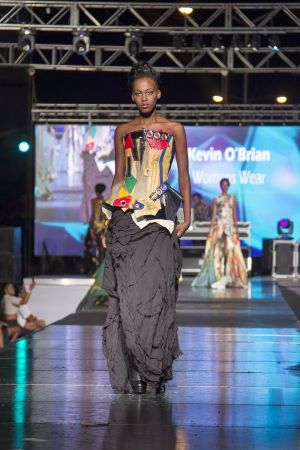 Kevin O'Brian at Style Week Jamaica 2015