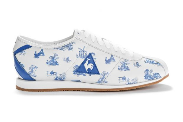Le Coq Sportif x Colette sneakers with various French motifs