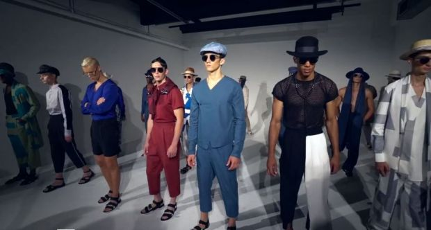 Presentation at New York Fashion Week Men's