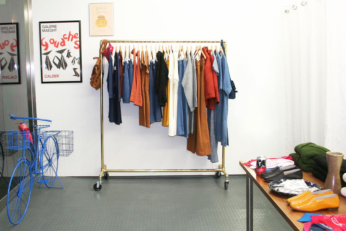 Loup pop-up store in New York.